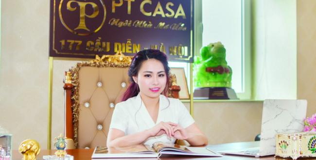 Bà Phạm Thu Hà  - Giám đốc cty TNHH Nội thất Châu Âu PTcasa